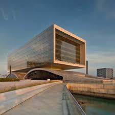 Office building design architecture Facade Arcapita Bank Headquartersmanama Bahrain Som Commercial Office