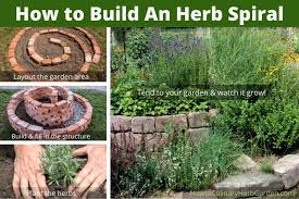 how to build an herb spiral planning