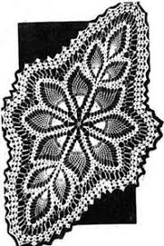 Oval Crochet Doily Patterns Free Magnificent Crochet Doily Patterns EBay