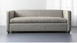 queen sofa bed. Movie Salt And Pepper Queen Sleeper Sofa In Custom Order Upholstery + Reviews | CB2 Bed
