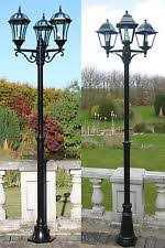 garden lamp post. Traditional Or Victorian Garden Lamp Post Lights Lighting Single Double Triple V