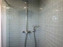bathroom tile accessories. Subway Ceramic Shower Tile With Stainless Steel Two Handle Rain Head In Vintage Room Bathroom Accessories
