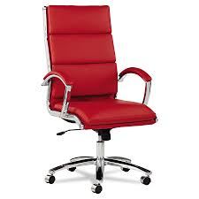 modern office chair leather. Napoli Modern High Back Red Office Chair Leather