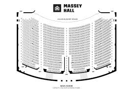 Massey Hall Concert Seating Chart Seating Map Massey Hall