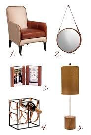 Small Picture Leather Home Decor Accents Lamps Plus