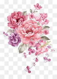 flowers pictures to print. Modren Pictures Pink Ink Flowers Flowers Material Watercolor Flowers Pink PNG  And Vector To Pictures Print R