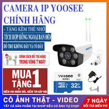 BẢO HÀNH 3 NĂM- TẶNG THẺ NHỚ 32GB YOOSEE XỊN - 1 ĐỔI 1 TRONG 7 NGÀY ] - Camera  IP Wifi giám sát đêm W26H chuẩn Full HD giảm chỉ còn 399,000 đ