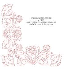 Punch Needle Embroidery Patterns Free Simple Decorating Design