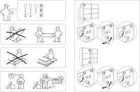 Handleiding Ikea Pax Stordal Schuifdeuren Pagina 1 Van 12 Dansk