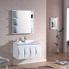 New Design Pvc Bathroom Vanity Pvc Bathroom Cabinet Real Time Quotes Last Sale Prices Okorder Com