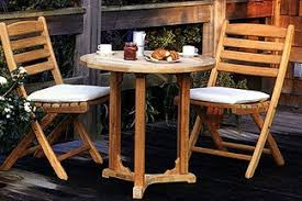 teak bistro table and chairs. Folding-Chair-and-Bistro-Table Teak Bistro Table And Chairs