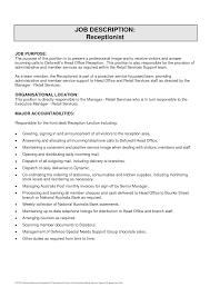 best photos of veterinary receptionist job description resume receptionist job description sample