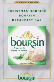 boursin cheese makes presents the second best thing about morning simply spread toasted baguettes with your favorite flavor of boursin cheese