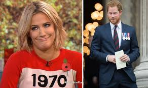 Gladiators host caroline flack was reportedly an overnight guest at harry's clarence house apartment after the pair partied together until 4am photo: Caroline Flack Plays Down Prince Harry Romance On This Morning Celebrity News Showbiz Tv Express Co Uk