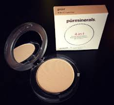 purminerals 4 in 1 pressed mineral makeup foundation with spf 15