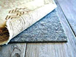 area rug pads for wood floors what kind of rugs are safe hardwood waterproof pad natures