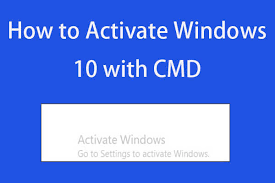 how to permanently activate windows 10