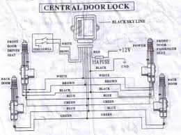 5 wire central locking actuator wiring diagram 5 aftermarket door lock actuator wiring diagrams get image on 5 wire central locking actuator wiring