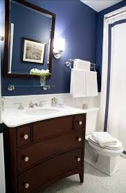 Dark Blue Bathroom Navy Blue Bathroom Pictures Bathrooms Designs