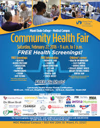 Health Fair Flyers Flyer Miami Fl Omfar Mcpgroup Co