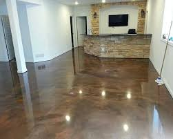 basement floor paint ideas. Unique Ideas Brown Epoxy Basement Floor Paint Ideas U2026 In Basement Floor Paint Ideas Pinterest
