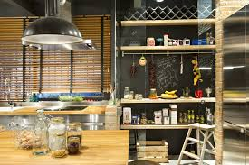 Kitchen Chalkboard With Shelf Bajo Comercial Convertido En Loft Picture Gallery