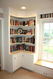 corner book shelves bookcase cottage white view larger shelf unit with glass doors ideas ikea black