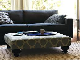 fabric ottoman coffee table stylish upholstered round tables info with large uph