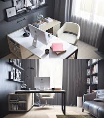 dozen home workspaces. Wonderful Dozen Lshaped Desk With Lower Drawers And Natural Light Intended Dozen Home Workspaces O