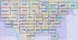 Great Falls Sectional Chart Conventional Grids