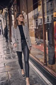 leather pants outfits 14