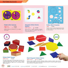 Pattern Block Template Delectable Genie Educational TFC SA Pattern Blocks Page 4444 Created