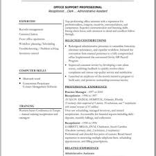 Free Resume Templates For Word 2007 Cool General Accountant Sample Resume Template For Character Reference