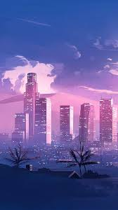 Anime City Aesthetic Wallpapers ...