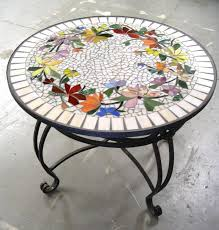full size of decorating mosaic round table top designs mosaic tile table top patterns replace glass