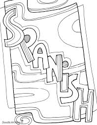 Small Picture Subject Coloring Pages Classroom Doodles Classroom Doodles