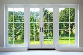 french sliding glass doors inch 3 panel patio door interior