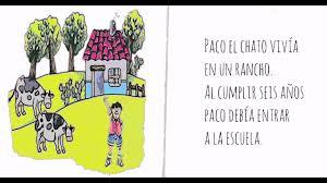 Paco el chato secundaria 1 libros. Paco El Chato Youtube