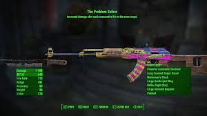 nuka world dlc best new weapons and armor fallout  problem solver