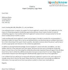 College Recommendation Letter Sample From Teacher Of For Scholarship