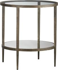 crate and barrel clairemont side table