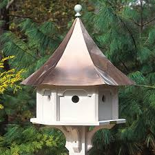 Birdhouse With Copper Roof Extra Large Premium Construction