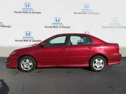 2005 Used Toyota Corolla 4dr Sedan S Automatic at Honda Mall of ...