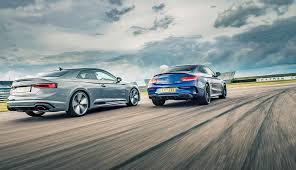 Audi RS5 vs Mercedes-AMG C63 S twin test review by CAR Magazine