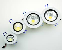 led cob downlight 5w 7w 9w 12w recessed led ceiling light spot light lamp 110v 220v