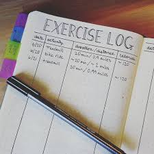10 Genius Bullet Journal Weight And Exercise Tracker Ideas That You