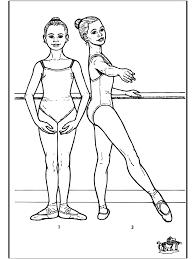 Ballet 7 Kleurplaat Ballet