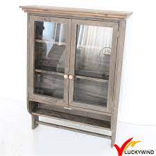 china wooden antique wall cabinet