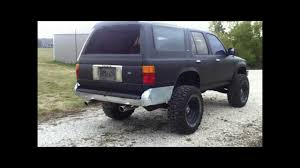 1991 Toyota 4Runner dual exhaust straight piped 3.0 V6 - YouTube