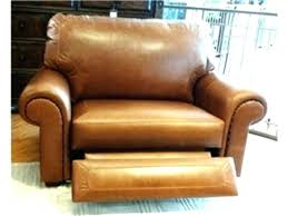 real leather recliner chairs genuine top grain swivel chair rec